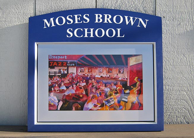 Moses Brown School Magenevent Sign