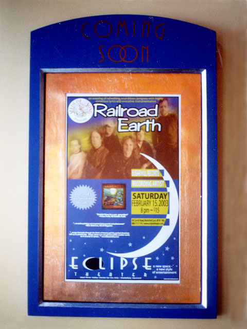 Eclipse Theater Wall Mounted Sign